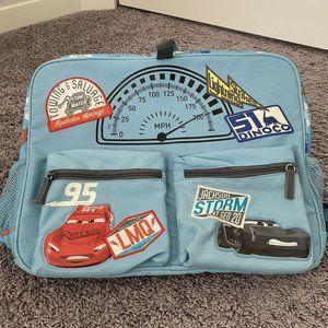 Disney car Lighting McQueen's backpack